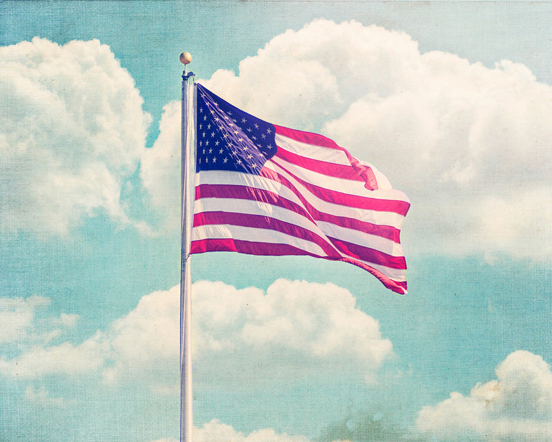 Old Glory - Patriotic Wall Art