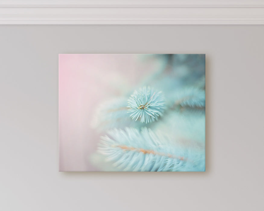 Pastel Woodland - Dreamy Nature Photo for Your Restful Bedroom