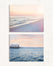 Pastel Beach Print Set of Two