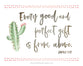 Every Good and Perfect Gift Comes from Above - Girl's Version