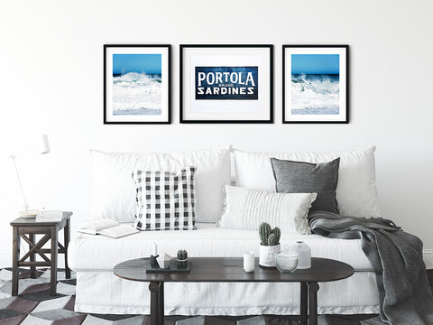 Coastal Farmhouse Gallery Wall Set