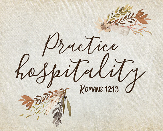 Practice Hospitality - Lettered Print
