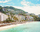 Puerto Vallarta - Modern Tropical Beach Print