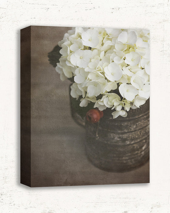 Richly Blessed - Rustic Hydrangea Wall Art