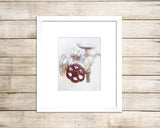 Rusty Patina - Vintage Laundry Room Wall Decor