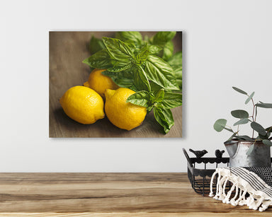 Savory - Yellow Kitchen Wall Art Print