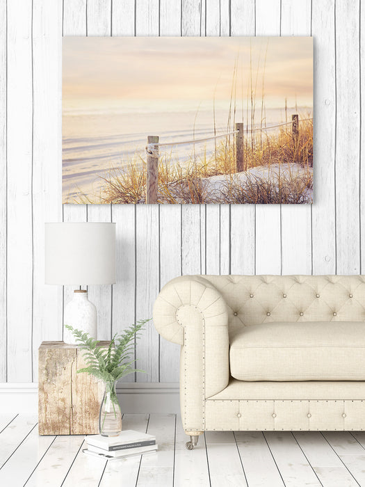 Sea Grass at Sunset - Nautical Wall Art for your Beach Decor