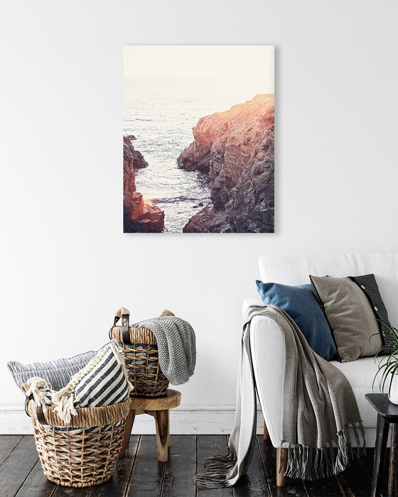 Sea Ranch Sunset - Coastal Wall Art for your Rustic Farmhouse