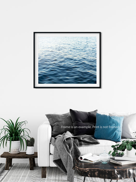 Seeking Solace - Ocean Wall Art