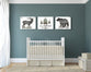Rustic Boys Room Set of Three - Canvas Wraps