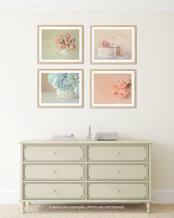French Country Print Set of Four