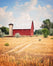 Simple Life - Red Barn Wall Art for your Farmhouse Decor