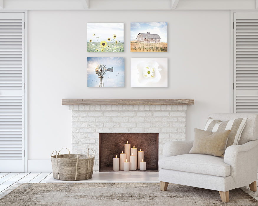 Farm Country Wall Decor Print Set