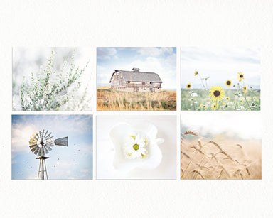 Country Gallery Wall Set of Six Prints