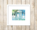 Streams of Dreams - Blue Coastal Wall Art