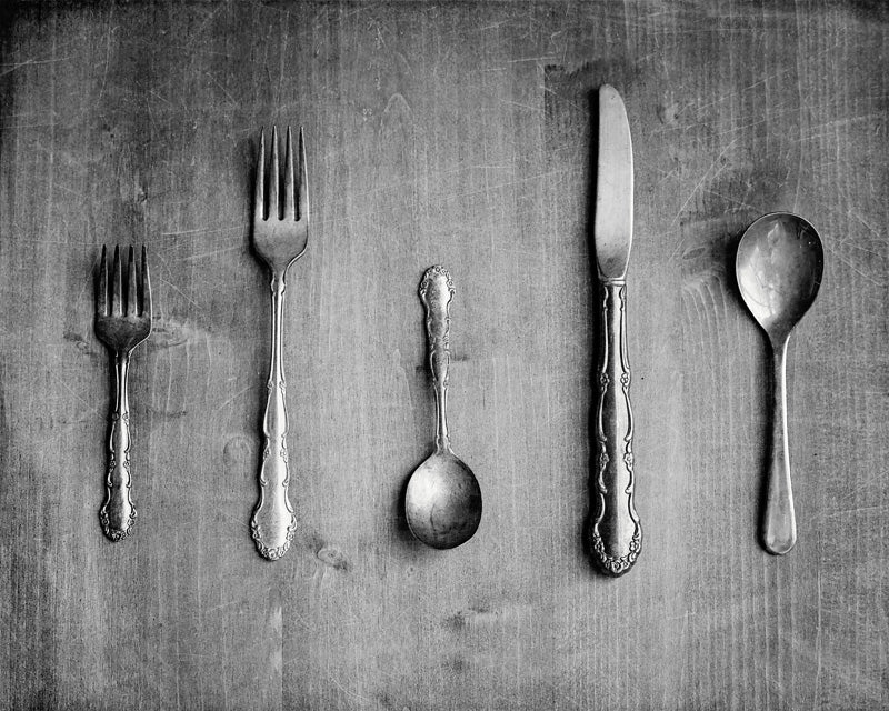 Utensils - Rustic Kitchen Wall Decor