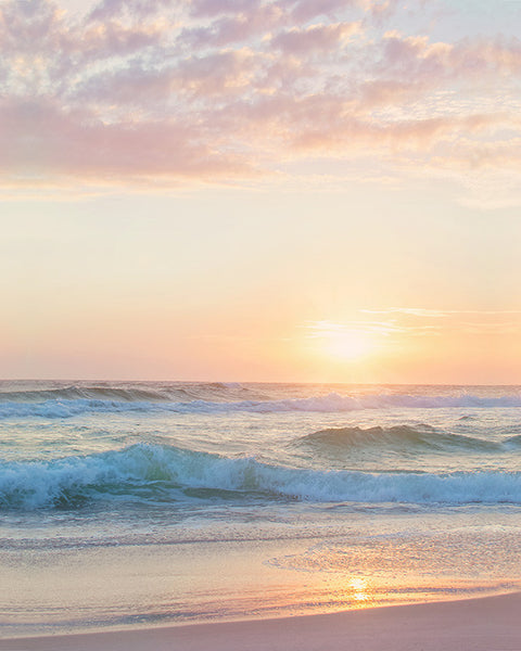 Beach in Spring - Beach Photography in Pastel Tones