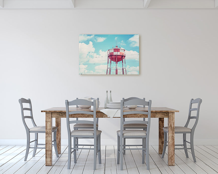 Water Tower Talk - Industrial Farmhouse Wall Art