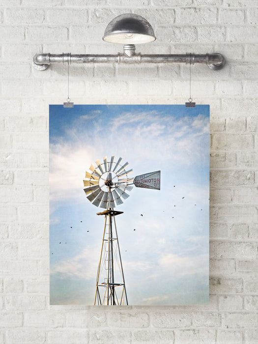 Windmill - Rustic Farmhouse Wall Decor