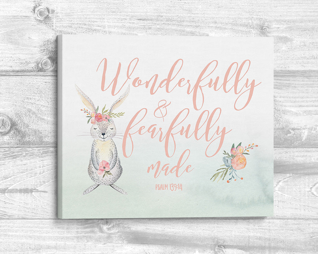 Wonderfully and Fearfully Made - Canvas Wrap