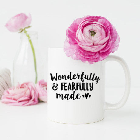 Wonderfully and Fearfully Made Mug