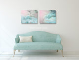 Woodland Dreams Set of Two Pastel Prints