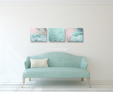 Woodland Dreams Set of Three Pastel Prints