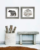 Rustic Boys Room Set of Two