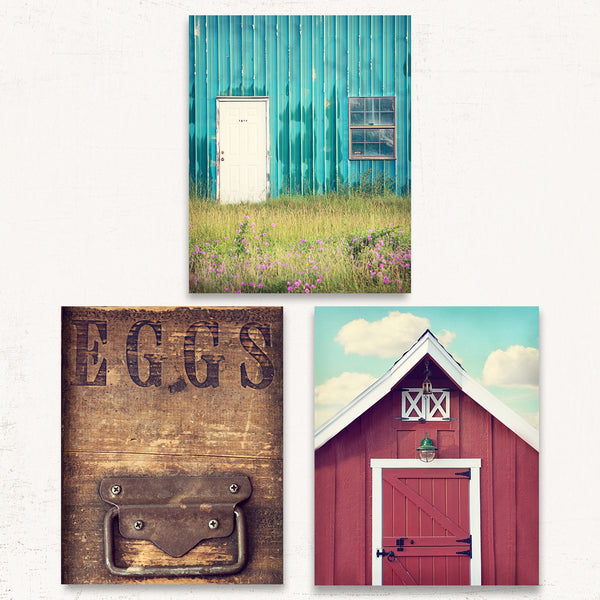 Country Kitchen Print Set of Three