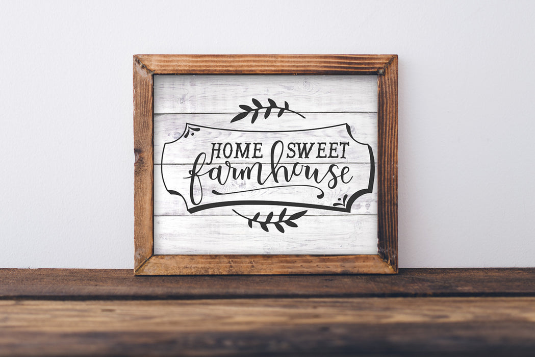 Home Sweet Farmhouse - Lettered Print