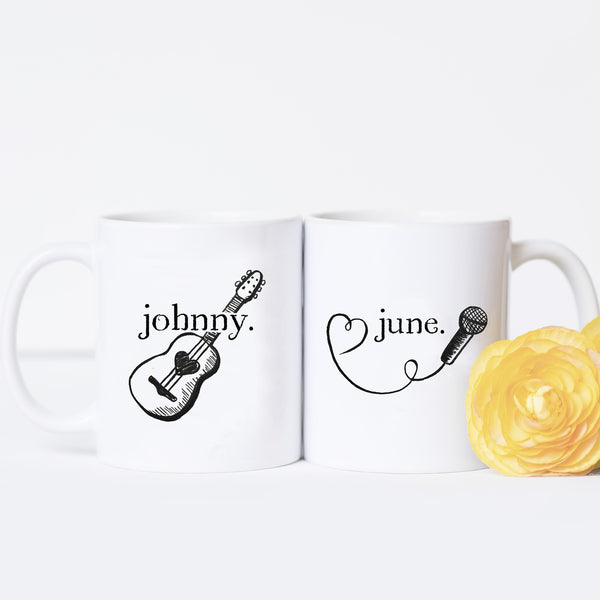 Johnny and June - Couples Mug Set