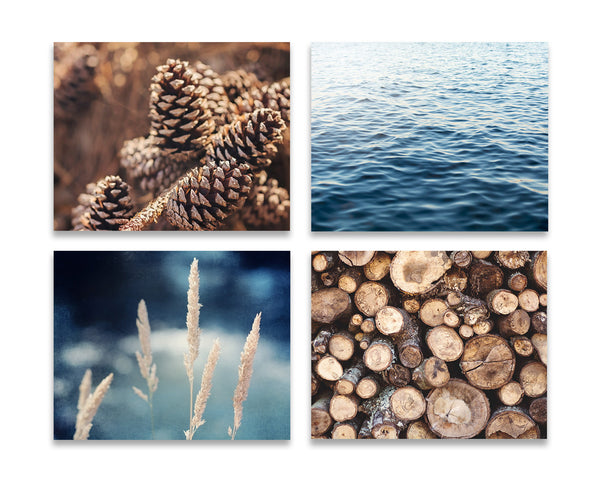 Lake House Print Set of Four