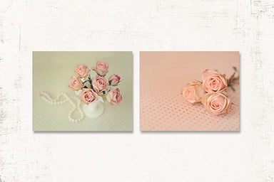 Shabby Chic Nursery Print Set of Two