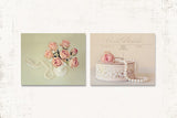 French Country Print Set of Two