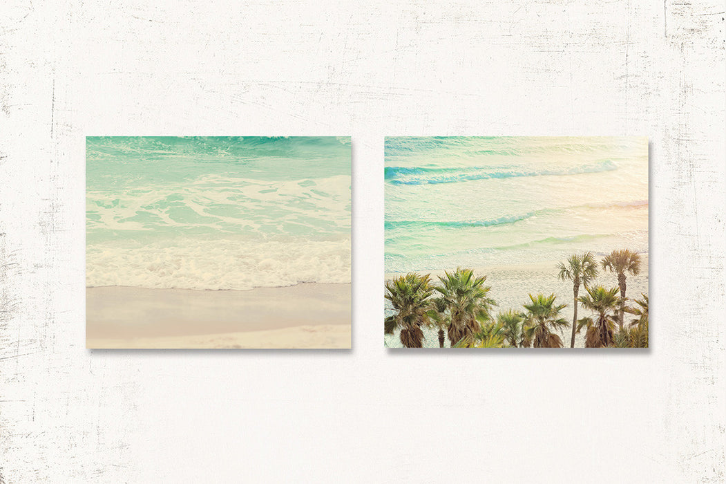 Oasis Print Set of Two