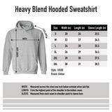 Gildan Dryblend Hooded Sweatshirt -Safety Pink