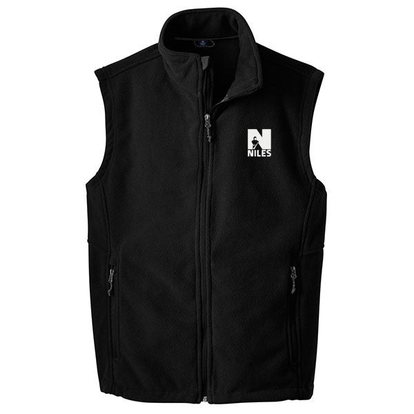 Discontinued - Limited Sizing - Port Authority Value Fleece Vest - Black