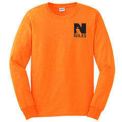 Gildan Ultra Cotton Longsleeve Basic T-Shirt - Orange