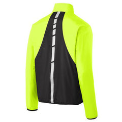 Discontinued - Limited Sizing - Men's Port Authority Zephyr Reflective Hit Full Zip Jacket - Safety Green