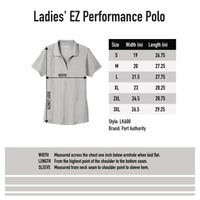Port Authority Ladies EZPerformance Pique Polo