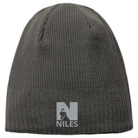 New Era® Knit Beanie - Slate Grey