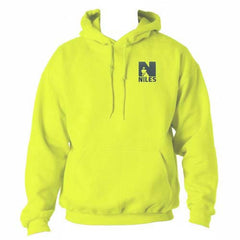 Gildan Dryblend Hooded Sweatshirt -Safety Green