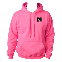 *Limited Sizing - Gildan Dryblend Hooded Sweatshirt -Safety Pink