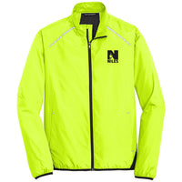 *SALE - Limited Sizing - Men's Port Authority Zephyr Reflective Hit Full Zip Jacket - Safety Green
