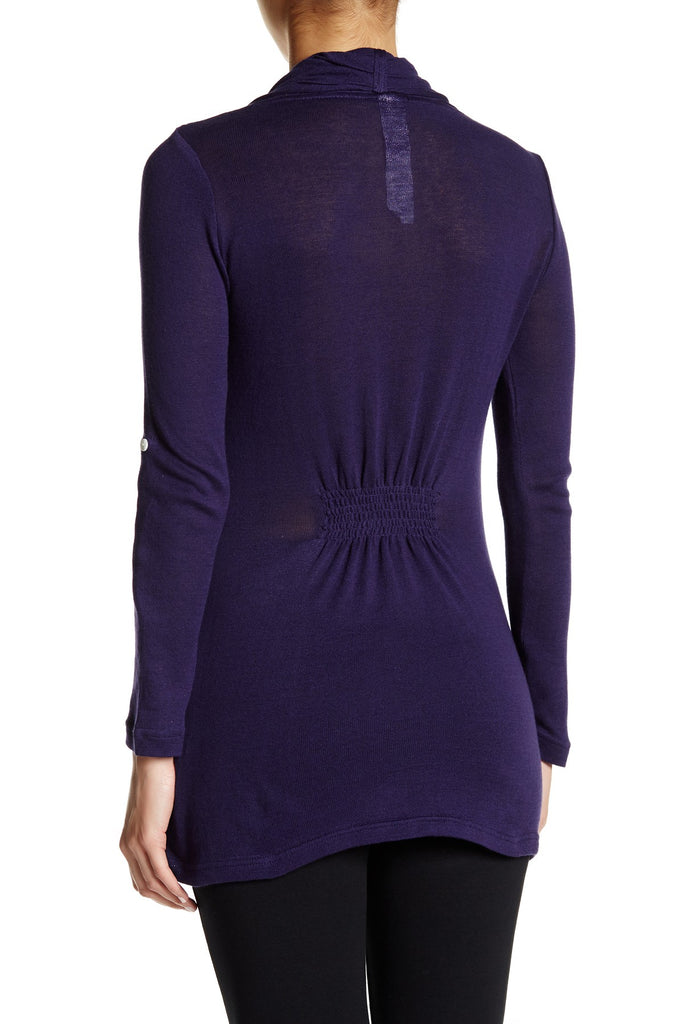 Devi Sweater in Deep Purple
