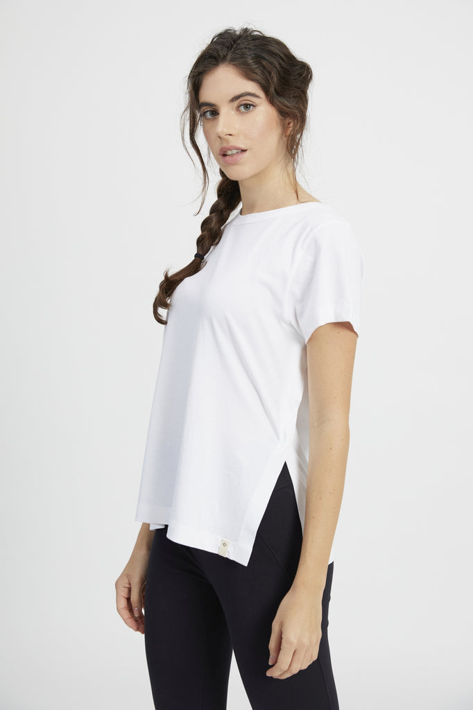 ANDOT CREW NECK TEE WHITE