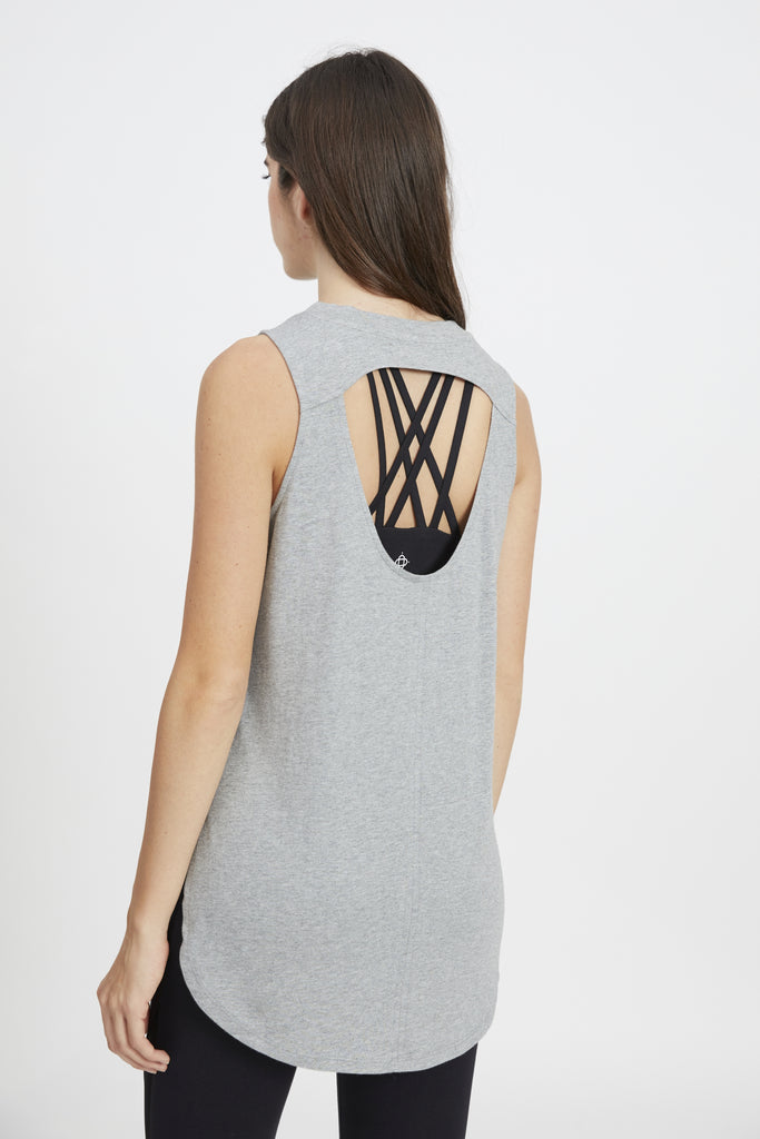 ARTHAS TANK HEATHER GREY
