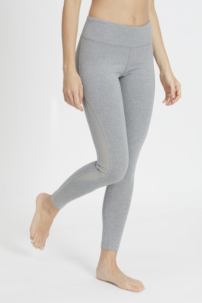 ATHENA HIGH WAIST LEGGING HEATHER GREY