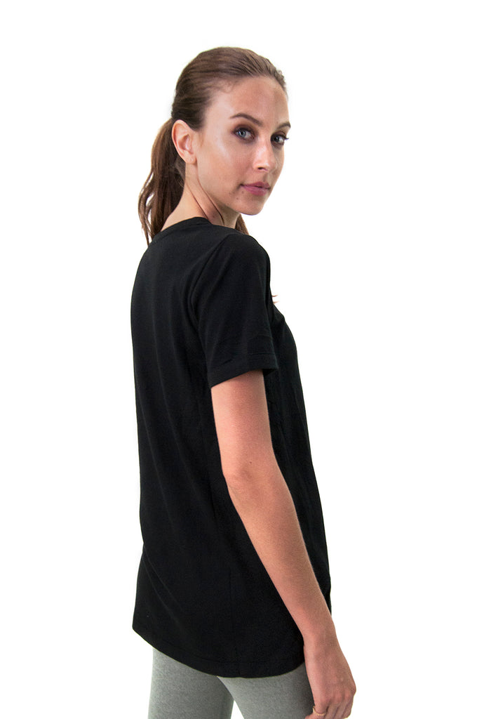 Aria Tee in Black