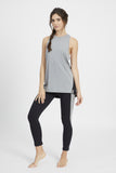 DISCOVERY TANK HEATHER GREY